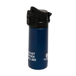 """Ready when you are"" Travel Flask"