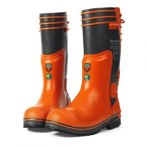 Functional 28 Rubber Chainsaw Wellingtons