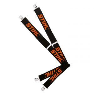 Braces black/orange 130cm