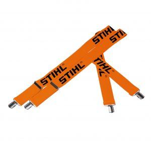 Orange braces metal clips 130cm
